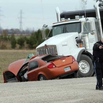 personal injury - trucking accident