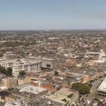 View of French Quarter from office